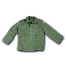 Camicia moleskin 100% cotone stone washed Verde - UDB