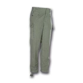 Pantalone moleskin 100% cotone stone washed Verde - UDB
