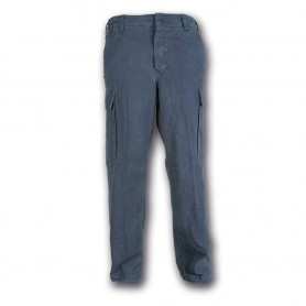 Pantalone moleskin 100% cotone stone washed Blu - UDB