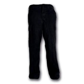 Pantalone moleskin 100% cotone stone washed Nero - UDB