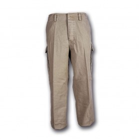 Pantalone moleskin 100% cotone stone washed Beige - UDB