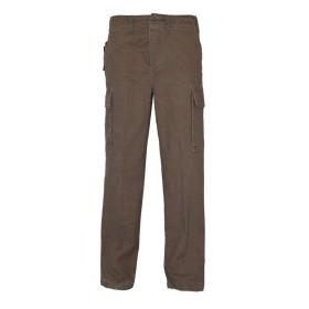 Pantalone moleskin 100% cotone stone washed Marrone - UDB