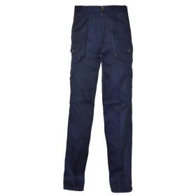 Pantalone sfoderato in misto cotone Blu - UDB