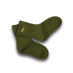 Calzini corti in gomma (neoprene) Verde - UDB