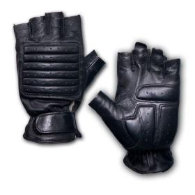 Guanto tattico in pelle colore Nero - UD