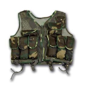 Gilet tattico esercito croato Woodland -UDB