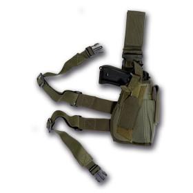 Fodero pistola da gamba colore Verde - UDB