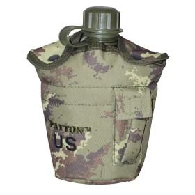 Borraccia in plastica mod. US. ARMY (1lt) colore Vegetato - UDB