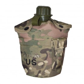 Borraccia in plastica mod. US. ARMY (1lt) colore Camo Rock - UDB