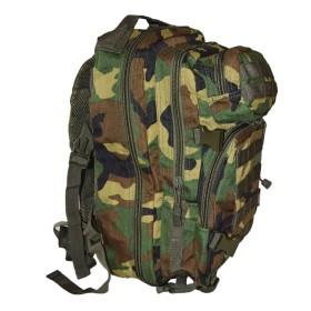 Zaino tattico con predisposizione per borsa idratante colore Woodland - UDB