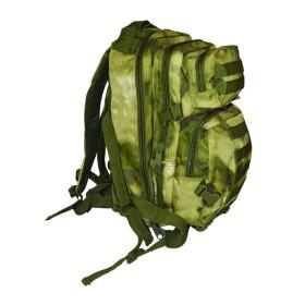 Zaino tattico con predisposizione per borsa idratante colore Green Rock - UDB