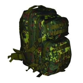 Zaino tattico con predisposizione per borsa idratante colore Camo Rock - UDB