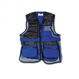 GILET DA TIRO Royal/Nero Art 9303 - UDB