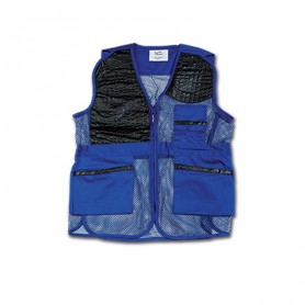 GILET DA TIRO Royal/Nero Art 9304 - UDB
