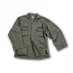 Giacca VERDE MILITARE Art.303  - UDB