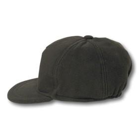 Cappello in pile con paraorecchie. Misura unica regolabile colore Verde - CBC