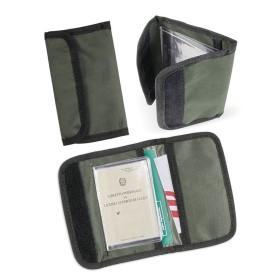 Portadocumenti tessuto colore Verde - CBC