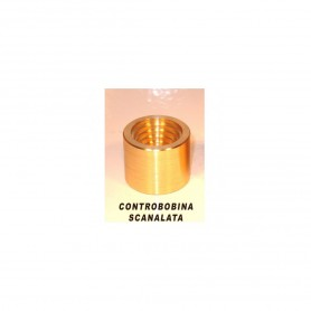 Controbobina ottone scanalata adatta stellatura - OMV