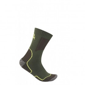 Calza Corta Coolmax Cordura Verde - RED ROCK