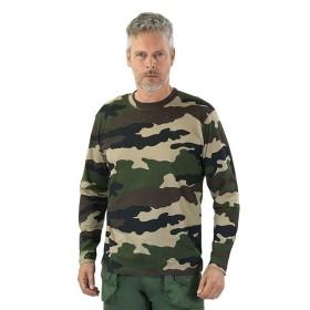T-Shirt Manica Lunga Mimetica - PERCUSSION