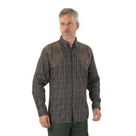 Camicia Sologne Marrone - PERCUSSION
