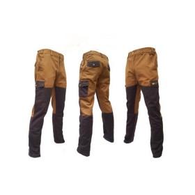 Pantalone 100% cotone cerato con riporto - LA NUOVA REGINA