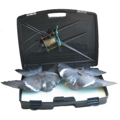 Giostra in valigia completa di due colombacci - SAG NATURE