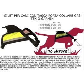Gilet per cani con tasca porta collare - SAG NATURE