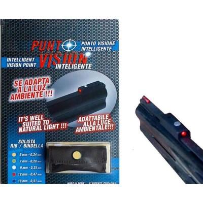 Punto vision - Mirino rosso per bindelle da 6 mm - SAG NATURE
