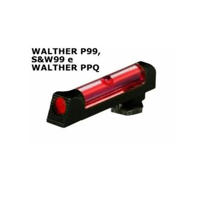 Mirino anteriore rosso per walther p99, s&w99 e walther ppq - SAG NATURE