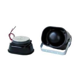 Tromba colore nero completa di stacca 16 watt/magnete 0,60 - SAG NATURE