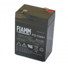 Batteria 6v 4,0-5,0 ah - SAG NATURE