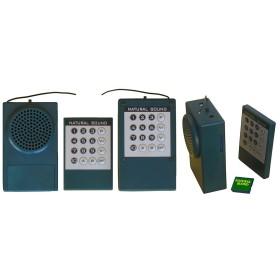 Scheda verde 20 canti personalizzata per riproduttore digitale natural sound AR20 - NATURAL SOUND
