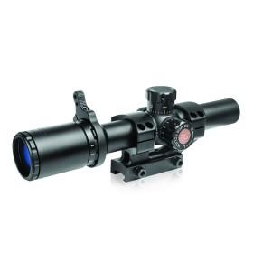 Ottica tattica Tru Brite 30mm 1-6 x 24 mm con reticolo illuminato - TRUGLO