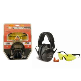 Kit cuffia, occhiali protettivi e tappi - WALKER'S