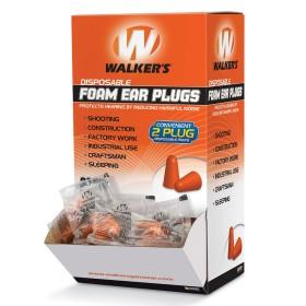 Confezione 200 tappi in schiuma per orecchie - WALKER'S