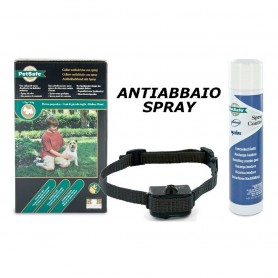 Collare antiabbaio spray ad acqua o alla citronella - SAG NATURE