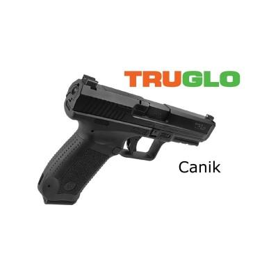 Set tacca di mira e mirino per pistola Canik- TRUGLO