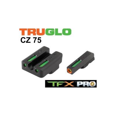 Mirino TFX pro trizio + fibra ottica estrema - TRUGLO