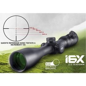 Cannocchiale I6x - 2,5-15x 50mm - SHILBA