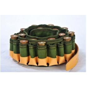 Cartuccera per Fucile in Canvas e Pelle 30 Celle - SPADONI
