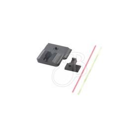 Tactical S&w M&p Set Tacca/mirino Fibra - WARREN