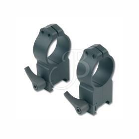 Maxima Anelli 30mm con leva per Weaver - WARNE
