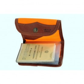 Portalicenza in Cordura Orange - SPADONI