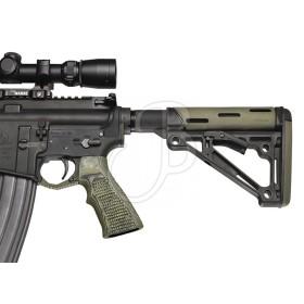 AR15 Impugnatura G10 Piranha - colore Verde - HOGUE