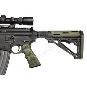 AR15 Impugnatura G10 Zigrinata - Colore Verde - HOGUE