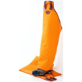 Cosciale Diviso in Cordura Orange con Lacci - SPADONI