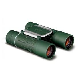 Binocolo 10x25 ACTION gommato verde, fuoco fisso, ruby coated - KONUS