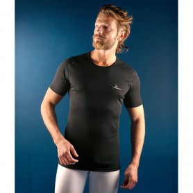 PROGAME-20 Man T-shirt FALL/WINTER in black colour - KONUS