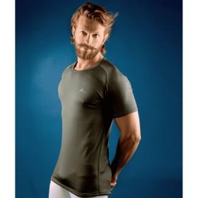 EVIDEX-20 Man T-shirt FALL in green/black colour - KONUS